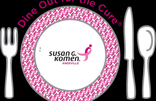 Komen Knoxville is proud to partner with local restaurants for Dine Out for the Cure