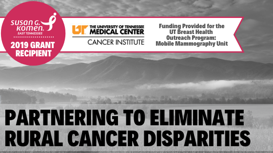Proud to Fund the UT Mobile Mammography Unit for More Than 20 Years